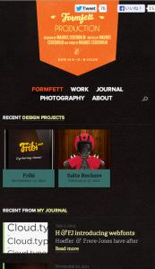 Formfett(モバイルサイズ)