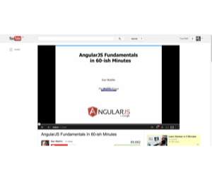 AngularJS Fundamentals In 60 ish Minutes   YouTube