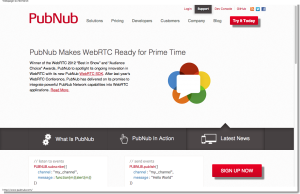 Real-Time Network - Push Real Time Data to Mobile, Tablet, Web   PubNub