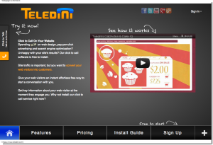 Teledini - Click to Call Software