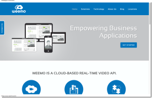 Weemo Welcome   Cloud videoconferencing APIs for integration into business applications.