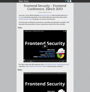 frontend-security