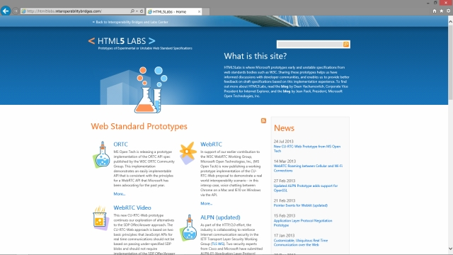 HTML5 LABS