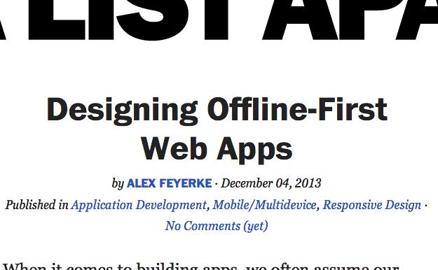 alistapart-offline