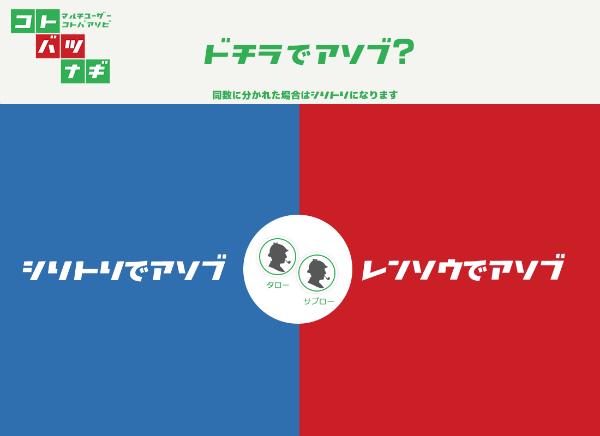 コトバツナギ:モード選択