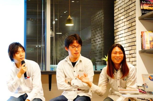 執筆者(左から吉田 徹生氏、池添 明宏氏、金井 健一氏)