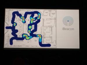 Stack社のライトalbaのiBeacon機能で作成したHeatMap