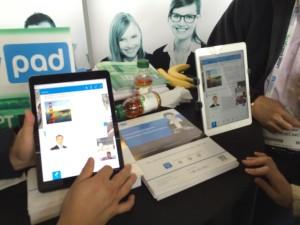 VoxyPadのデモ画面
