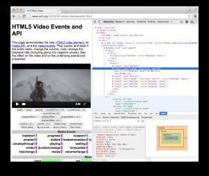 Video要素で利用されているShadow DOM