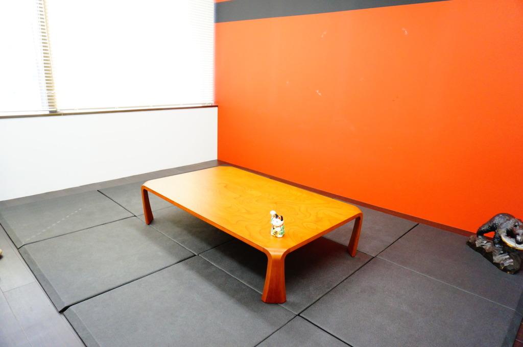 久下さんがデザインされた会議室