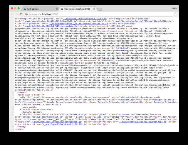 Vue js製フレームワークNuxt jsではじめるUniversalアプリケーション開発